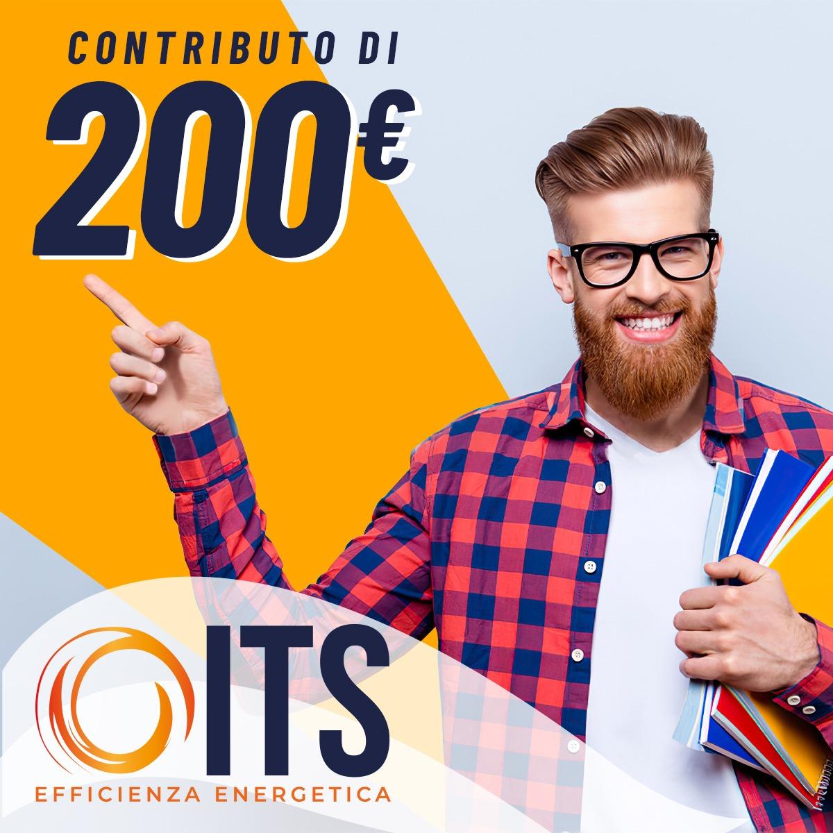 Iscriviti e avrai un contributo di 200 euro